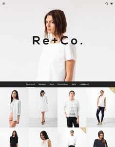 A #minimalist #Shopify #theme that puts your #photography front and center
