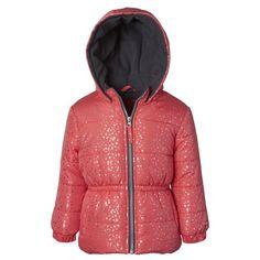 Girls' Clothing (newborn-5t) Trend Mark Rothschild Baby Girl Puffer Jacket Coat Sz 24 Month Pink White Fleece Lined Hood