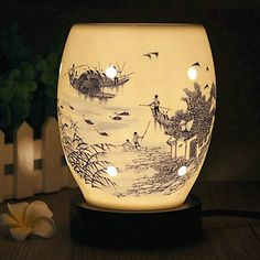 Chinese+Style+Watertown+Pattern+Electric+Fragrance+Desk+Lamp+with+Dimmer+–+GBP+£+26.21