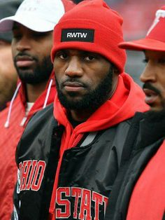 LeBron James @ THE Ohio State University Football Game ...