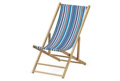 Cabana Beach Chair, Atlantic Blue Stripe on OneKingsLane.com #wheretofindme