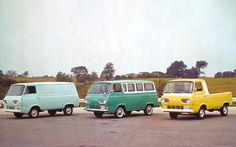 Many retrospective pieces on the Econoline falsely assume the Econoline was always built on a body-on-frame truck chassis. While later models shared a great deal of hardware with Ford's F-Series trucks, the first-generation Econoline vans were actually based on the Ford Falcon passenger car, which ironically enough, served as the basis of the first-generation Mustang! The first-generation