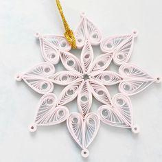 Christmas Snowflake Ornament - Snowflake Decorations - Christmas Decorations - Christmas Tree Ornament