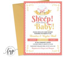 Sheep Baby Shower In