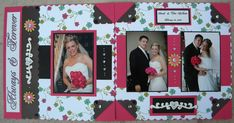 Vintage Wedding Scrapbook Layouts | The wedding scrapbook layout. Ideas, instructions and free vintage ...