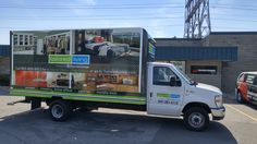 Full #truckwrap for Tailored Living Mississauga - #vehiclewrap #vehiclegraphics #carwrap