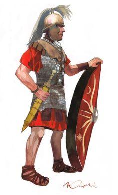 Soldado romano por Vincent Pompetti