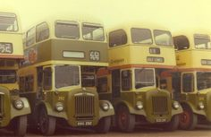 Aberdeen buses before the FirstBus takeover.
