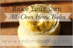 Make Your Own: All-over Home Balm