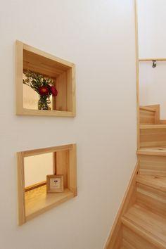 ニッチはのある階段で生活に彩りを加えます。#階段#ニッチ#おしゃれ