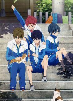 Ayaka Nagahama, Kyoto Animation, Free!, Ikuya Kirishima, Asahi Shiina