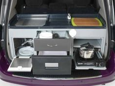 Dodge Caravan Minivan Converted Into Micro Motorhome