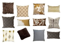 Fall Pillows - Mix & Match!