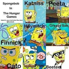 Hunger Games Spongebob's way