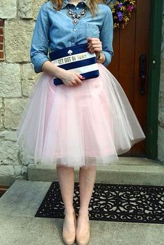Vintage Blush Pink Women Tulle Skirt Fluffy Knee Length Midi Skirts Custom Made Elastic Waist Pretty Tutu Bridesmaid Skirts Black Tulle Skirt Outfit, Blush Tulle Skirt, Skirt Outfits, Tulle Skirts, Tutu Skirt Women, Women's Skirts, Pleated Skirt, Office Fashion Women, Womens Fashion