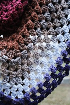 Make This One Skein Crochet Triangle Scarf In Less Than 3Hrs! - YarnHookNeedles