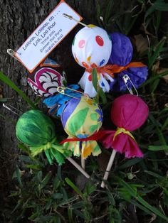 10 Lollipop Girl Scout SWAP or Craft Kits