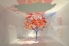 Yuken Teruya Transforms a McDonald's Bag into a Delicate Tree | Inhabitat - Sustainable Design Innovation