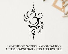 Hand Tattoos, Yoga Tattoos, Red Ink Tattoos, Body Art Tattoos, Om Symbol Tattoo, Small Tattoo Symbols, Unalome Tattoo, Semicolon Tattoo, Breathe Symbol