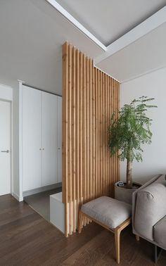 Living Room Partition Design, Living Room Divider, Room Partition Designs, Home Living Room, Living Room Designs, Living Room Decor, House Rooms, Apartment Design, Home Interior Design