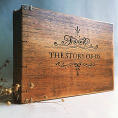 Handmade books from old reclaimed wood. by lacunawork on Etsy
