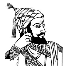 How to Draw Chhatrapati Shivaji Maharaj face drawing step by step Pencil Art Drawings, Art Drawings Sketches, Cute Drawings, Shivaji Maharaj Painting, Rangoli Designs For Competition, Rajasthani Art, Indian Women Painting, Clay Wall Art, Black And White Painting