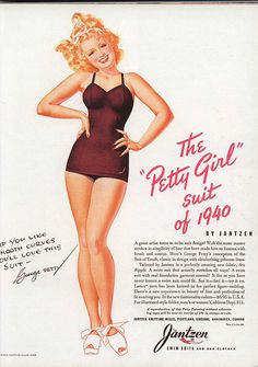 George Petty for Jantzen swimsuits