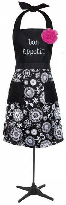 Onyx medallion thirty one apron- image only