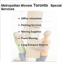 When you have a company like Metropolitan Movers Toronto. Never will you have any cases of accidents, or any careless collisions with our divers. Toronto Moving Company is loaded with array of modern trucks that are fitted with the latest technology.  Address:-  1 Yonge Street, Suite 1801, Toronto, ON, M5E 1W7  Phone:-  (647) 496-0220  Website:-   http://www.metropolitanmovers.ca/toronto/  Google Plus Listing:-   https://plus.google.com/106864765075861947345/about?gl=ca&hl=en