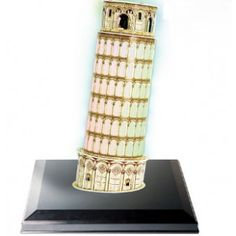 Leaning Tower of Pisa model Pisa, Tower, Gift Ideas, 3d, Lathe, Gift Tags