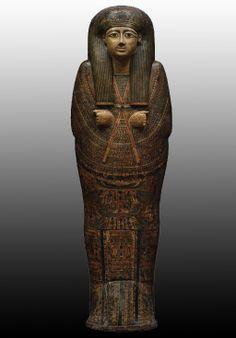 Sarcophagus of priest Djed-Hor-Iuefankh.  Third Intermediate 21st-22nd Dynasty circa 1000BC