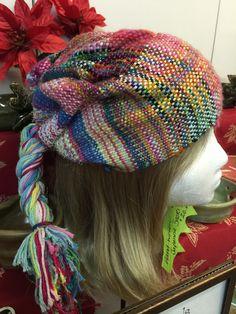 Handwoven Saori -Weaved Hats