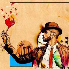 Usher Inkquisitive Illustrations