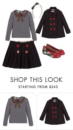 """""""Back to school Girl outfit"""" by bornintowealth on Polyvore featuring Gucci, Burberry and BackToSchool"""