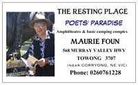 Vistaprint - Maurie business card
