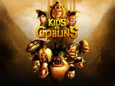 Kids vs Goblins is now available for iPad2 & iPhone 4s!