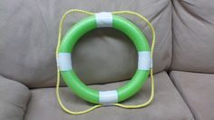 Life Preserver. I took... 1) pool noodle ($1 at Dollar Tree) 2) White Duct Tape ($3.73 at Walmart) 3) Yellow Nylon Rope (had a big bundle of this already in our Sunday School office.) I used packing tape to connect the noodle ends together.  I then Wrapped White Duct Tape in each of the four spots. I then attached the rope with one more piece of duct tape.  In addition to scene decoration, I may use these and hand a sign on each one to designate each of the rotation sites...crafts, music… Dance Themes, Girl Themes, Rain Gutter Regatta, Submerged Vbs, Underwater Theme, Life Preserver, Sunday School Activities, Vbs 2016, Sea Crafts