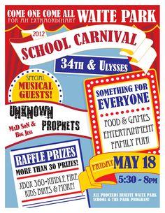 Waite Park PTA: Waite Park School Carnival feat. Unknown Prophets ...