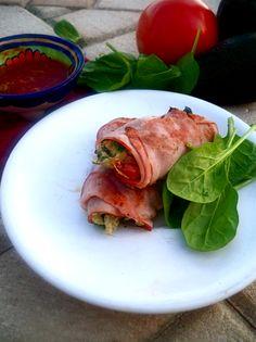 Een lekker koolhydraatarm ontbijt, Paleo ontbijt burrito. De ontbijt burrito is een heerlijk koolhydraatarm alternatief voor een koolhydraatrijk ontbijt zoals een beschuitje of broodje.