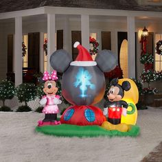 Mickey Mouse Christmas Inflatable Decor Pinterest Inflatableickey