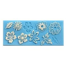 AllforhomeTM Sugarcraft Silicone Flower leaf Embossing Lace Fondant Mold Cake Decoration Mould Polymer Clay Resin Molds * Read more reviews of the product by visiting the link on the image.(This is an Amazon affiliate link)