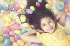 Melissa Calise Photography (Easter Eggs Girl Photo Shoot Ideas)