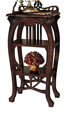 Design Toscano Art Nouveau Harp End Table Design Toscano https://www.amazon.com/dp/B005EIWSJO/ref=cm_sw_r_pi_dp_x_PkBozb2SVS3N2