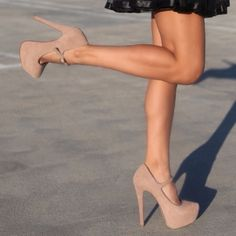Neutral platform pumps! love them!!