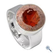 Ring Feueropal (Cabochon) oval, Gr. 57 | Großhandel Heilsteine, Mineralien-Handel Edelsteine, Großhändler Silberschmuck, Perlen Trommelsteine