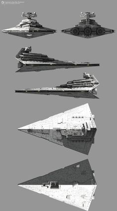 Imperator-class Star Destroyer http://fractalsponge.net/gallery/index.html