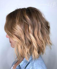 Beachy Light Brunette Hair