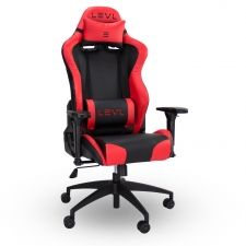 Levl Gaming Alpha Series M Gaming Chair In Black Red Gaming Chair Dining Chair Slipcovers Midcentury Modern Dining Chairs
