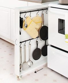 Rolling Slim Kitchen Organizers