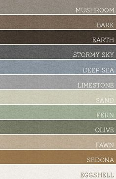 set of 3 of these colors and each room would be amazing. A palette for the whole house!Take any set of 3 of these colors and each room would be amazing. A palette for the whole house!